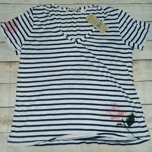 NWT MICHAEL STARS Striped Top
